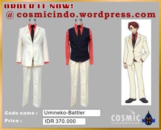 Kostum Cosplay-Umineko Battler-088806003287